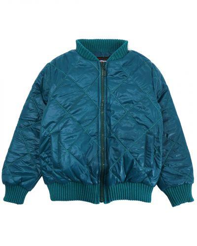 Однотонная стеганая куртка для мальчика 3-7 лет Bonito изумрудная