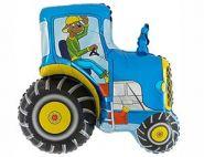 Фигура Трактор синий , 29''/ 73 см, 1 шт., Grabo
