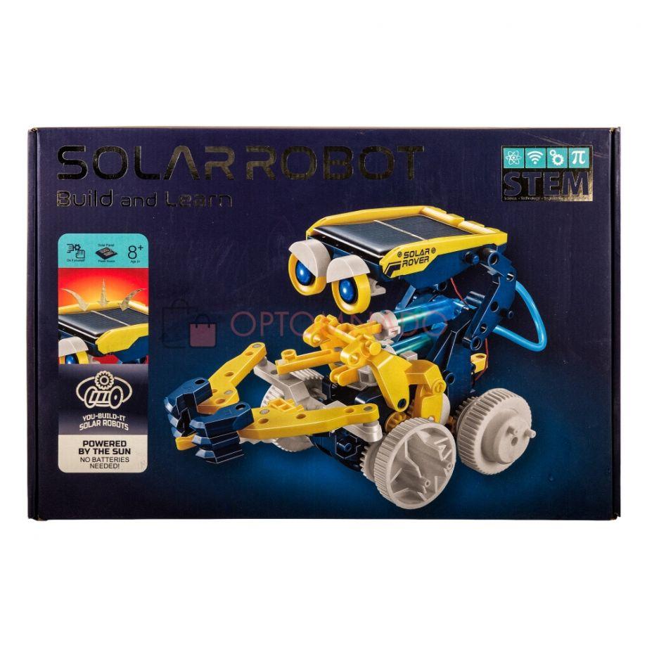 Робот-конструктор на солнечной батарее 11 в 1 Solar Robot build and learn