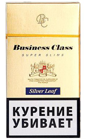 BUSINESS CLASS Silver Leaf SS