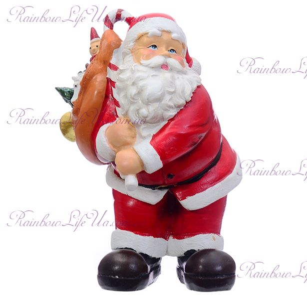 "Фигурка новогодняя ""Санта Клаус с подарками"""