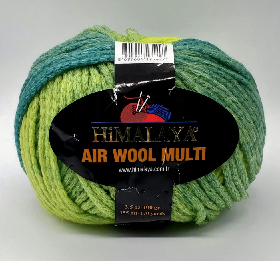 AIR WOOL MULTI Цвет № 125