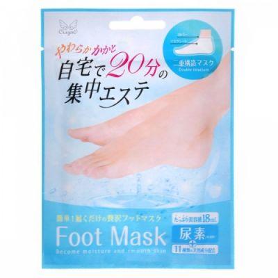 Kooza Crayon Увлажняющая и смягчающая маска для ног с мочевиной в виде носочков, 18 мл. 1/360