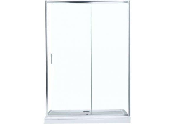 Душевая дверь Aquanet SD-1400A 140, прозрачное стекло