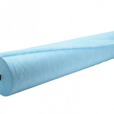 Простыня 200*80 (СМС 15) в рулоне №100, цвет: голубой