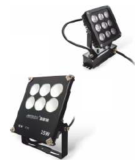 Светодиодный прожектор для декоративной подсветки, 9W, 25W IP65, RGB
