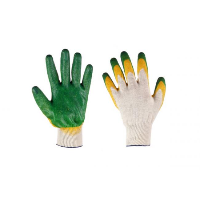 Перчатки 2-е латексное покрытие