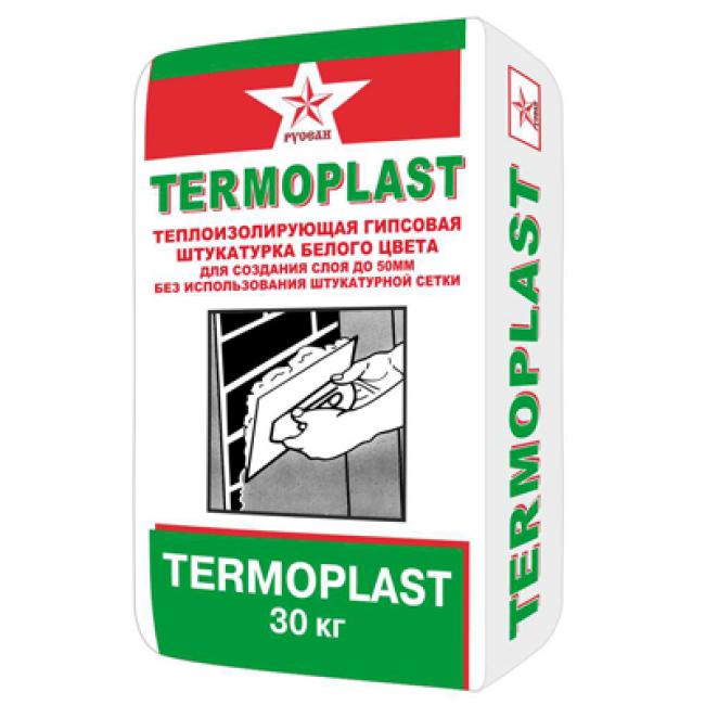 Штукатурка гипсовая Termoplast Русеан 30кг