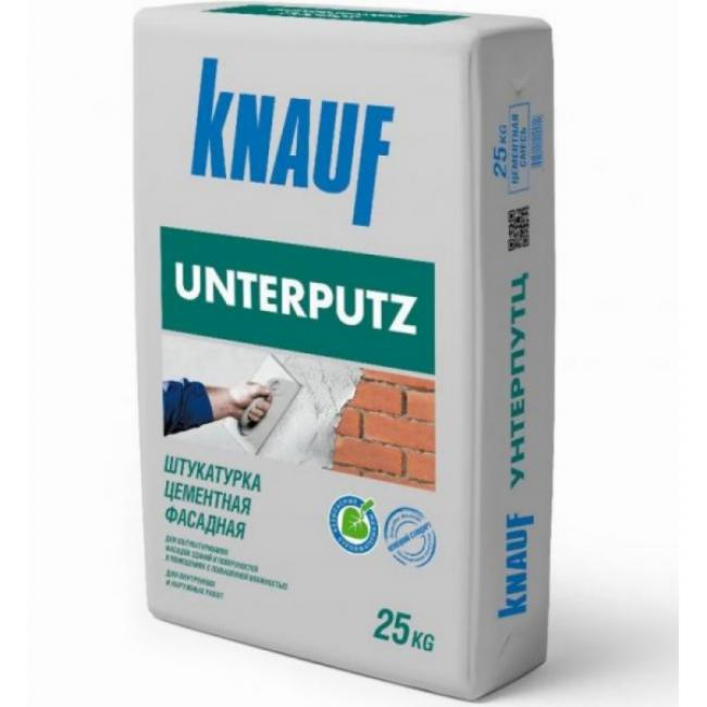 Штукатурка фасадная цементная Knauf Унтерпутц 25кг