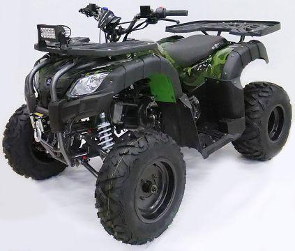Детский квадроцикл бензиновый Motax ATV Grizlik 200 cc (с лебедкой)