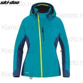 Куртка женская Ski-Doo Helium 30, Бирюзовая мод. 2021