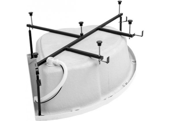 Каркас сварной для акриловой ванны Aquanet Fregate 120x120
