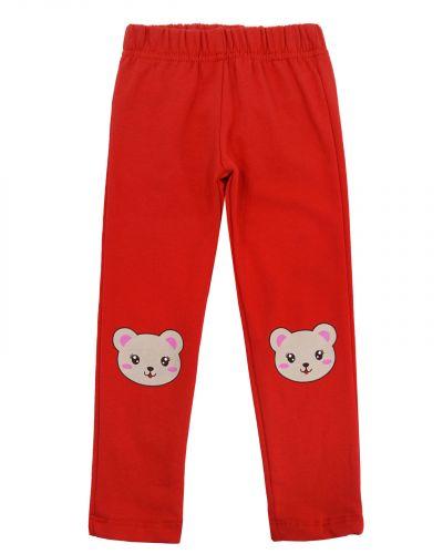 Леггинсы для девочек 2-6 лет Bonito kids BK1260L красные