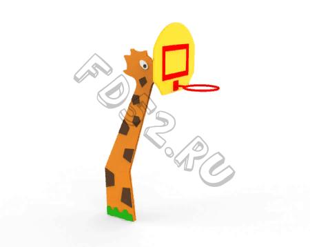 """Баскетбольный щит """"Жираф""""  521.30"""