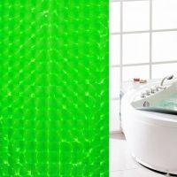 3D Штора для ванной 180х180 см_2