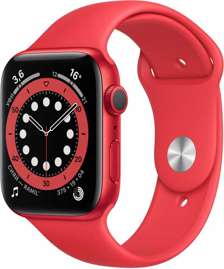 Apple Watch Series 6, 44 мм, (PRODUCT) RED