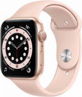 Apple Watch Series 6, 44 мм, розовый песок