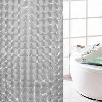 3D Штора для ванной 180х180 см_6