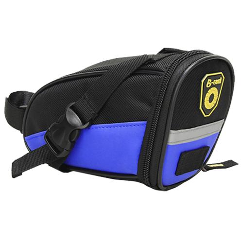 Велосипедная седельная сумка B-Soul. Цвет: синий.