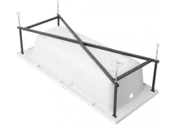 Каркас сварной для акриловой ванны Aquanet West 140
