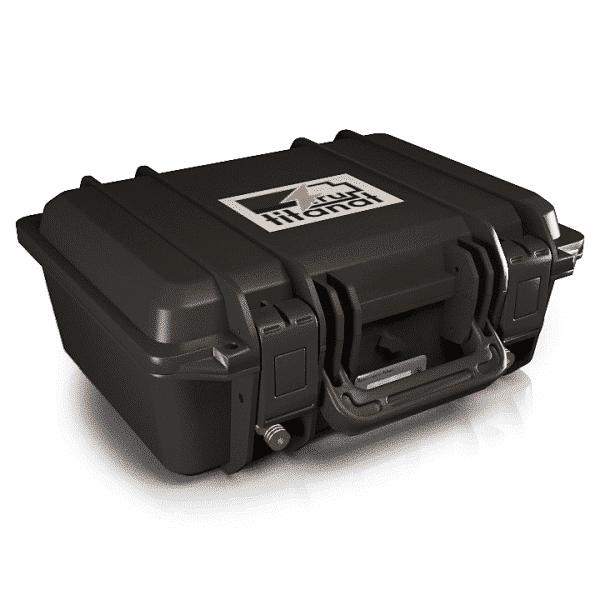 Аккумулятор LiFePO4 12V 55Ah защищённый (прикуриватель+кулометр)