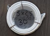Кабель ПВС 3х2,5 (ГОСТ 7399-97) белый Бухта 30 м