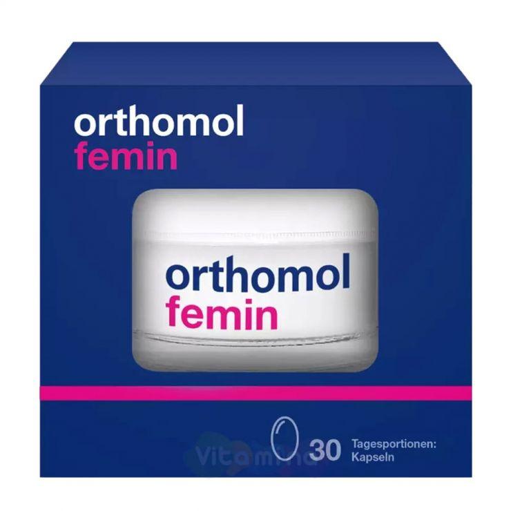 Ортомол Фемин В период менопаузы (капсулы)