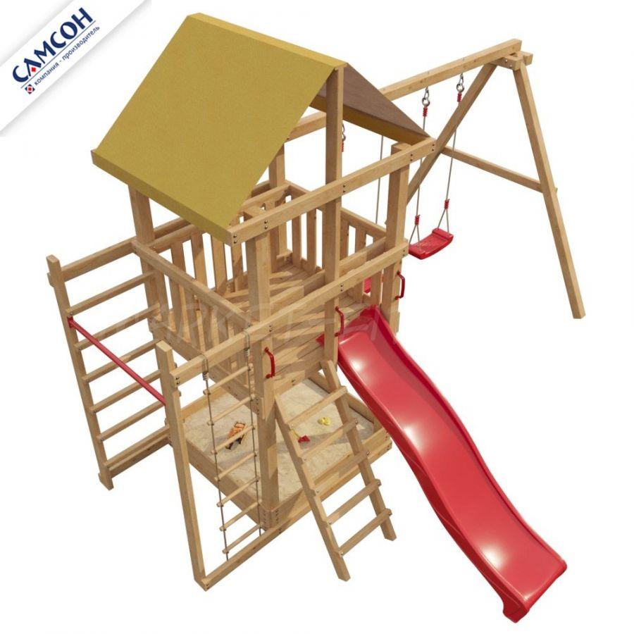 Детская деревянная площадка Самсон 5-й Элемент