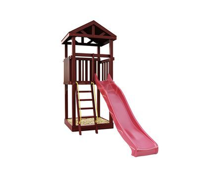 Деревянная детская площадка  IgraGrad Панда Фани Tower