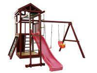 Деревянная детская площадка IgraGrad Панда Фани Gride с рукоходом