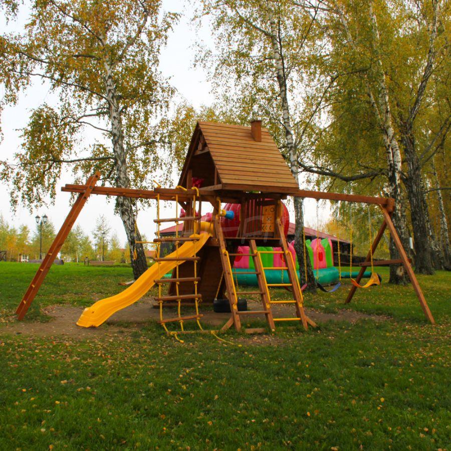 Игровая площадка New Sunrise Зарница и рукоход