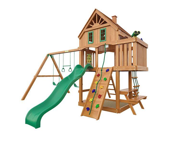 Деревянная детская площадка IgraGrad Шато (домик)