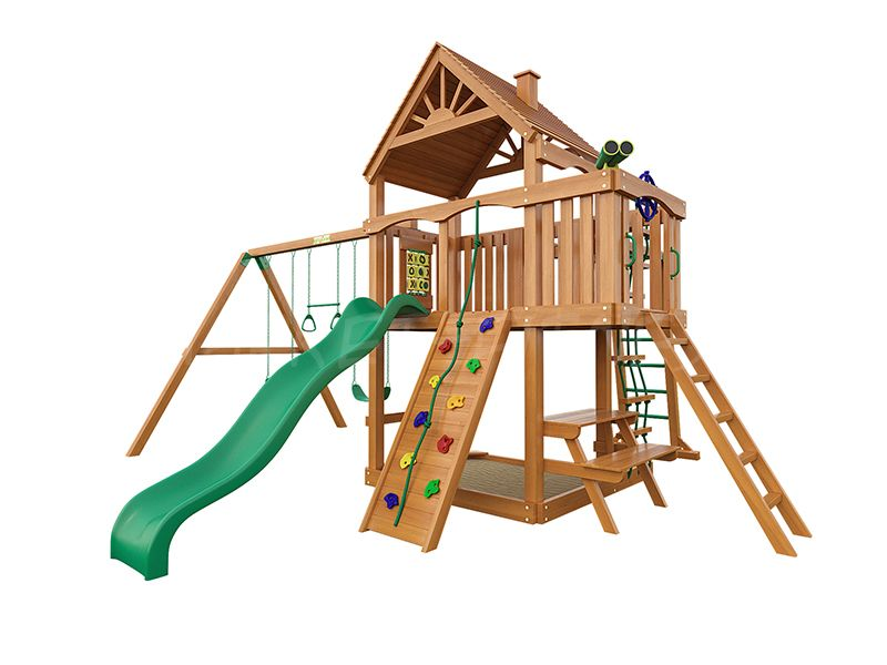 Деревянная детская площадка IgraGrad Навигатор (дерево)