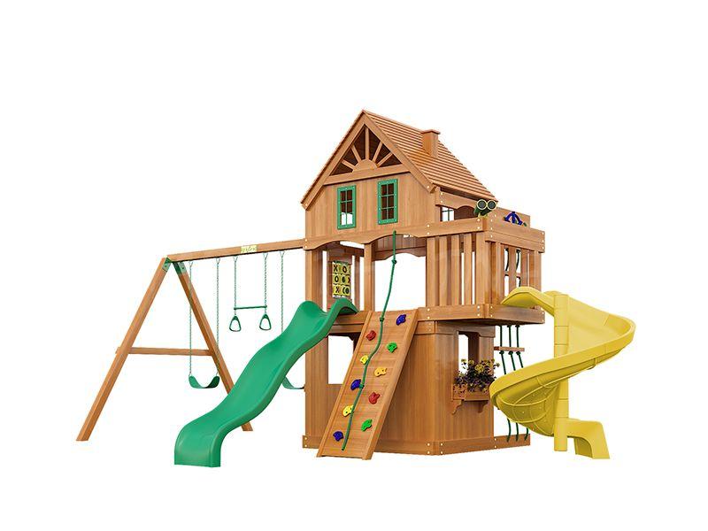 Деревянная детская площадка IgraGrad Шато Sun 2 (дерево)