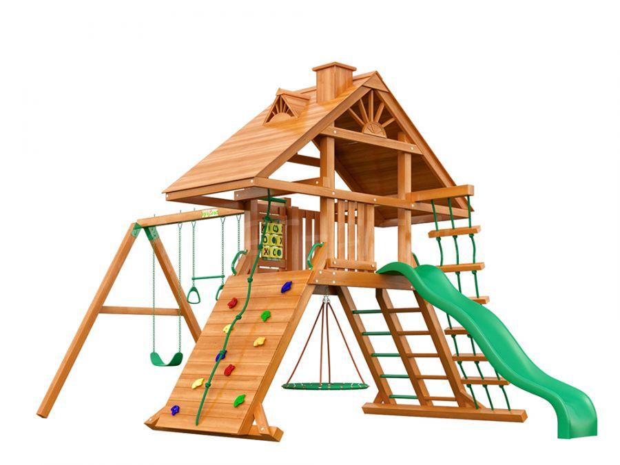 Деревянная детская площадка IgraGrad Крепость Фани (дерево)
