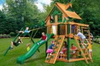 Детская площадка PlayNation Рассвет Трихауз с рукоходом