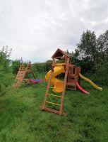 Детская площадка Выше Всех Маугли с винтовой горкой