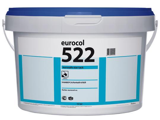 Клей универсальный дисперсионный Forbo 522 Eurosafe Star Tack (20 кг) для гибких коммерческих покрытий, морозостойкий