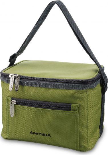 Ланч-сумка АРКТИКА 2,5 л 020-2500 зеленая с 3мя контейнерами изотермическая