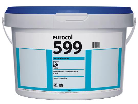 Многофункциональный клей Forbo Eurosafe Super 599 (20 кг) морозостойкий