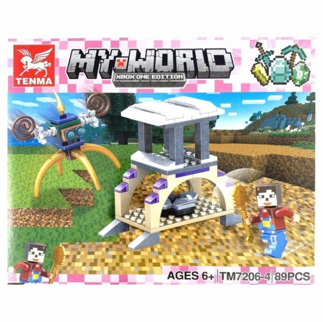 Конструктор Minecraft Myworld На природе
