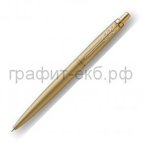 Ручка шариковая Parker Jotter Monochrome XL золотистый 2122754