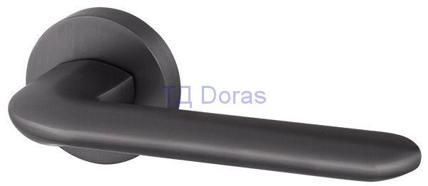 Ручка раздельная EXCALIBUR URB4 BPVD-77 Вороненый никель