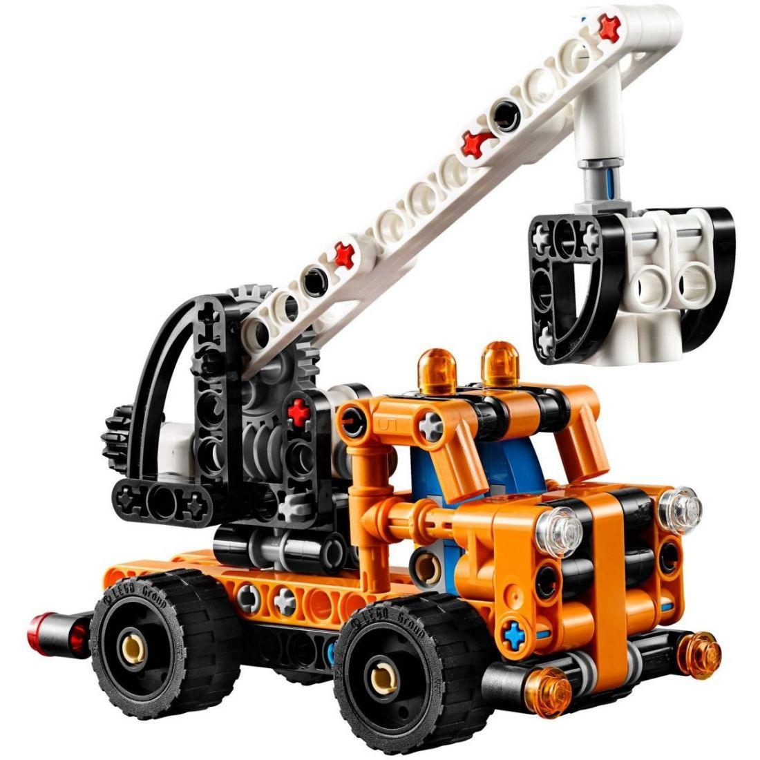 Конструктор Technology ремонтный автокран, 178+ деталей