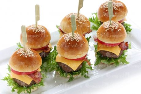 Мини-чизбургеры