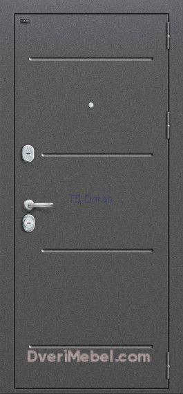 Стальная дверь Groff T2-223 Cappuccino Veralinga/White Pearl