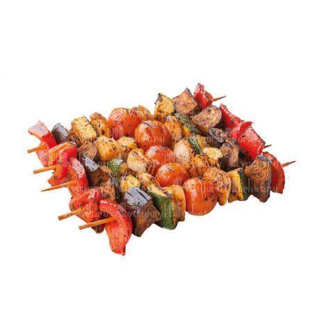 Овощи гриль на шпажках