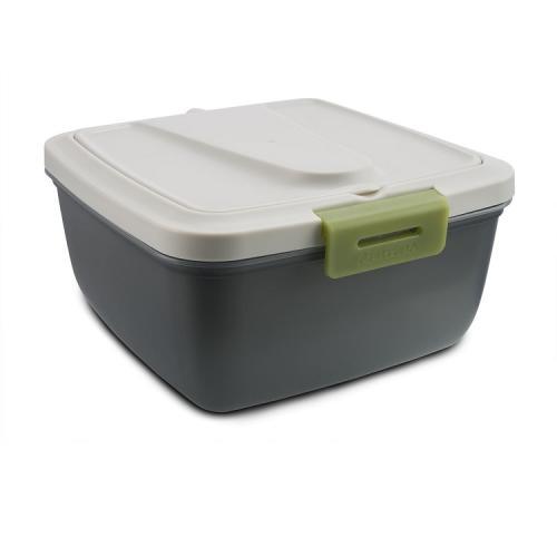 Ланчбокс АРКТИКА 030-1600 серый/зелёный
