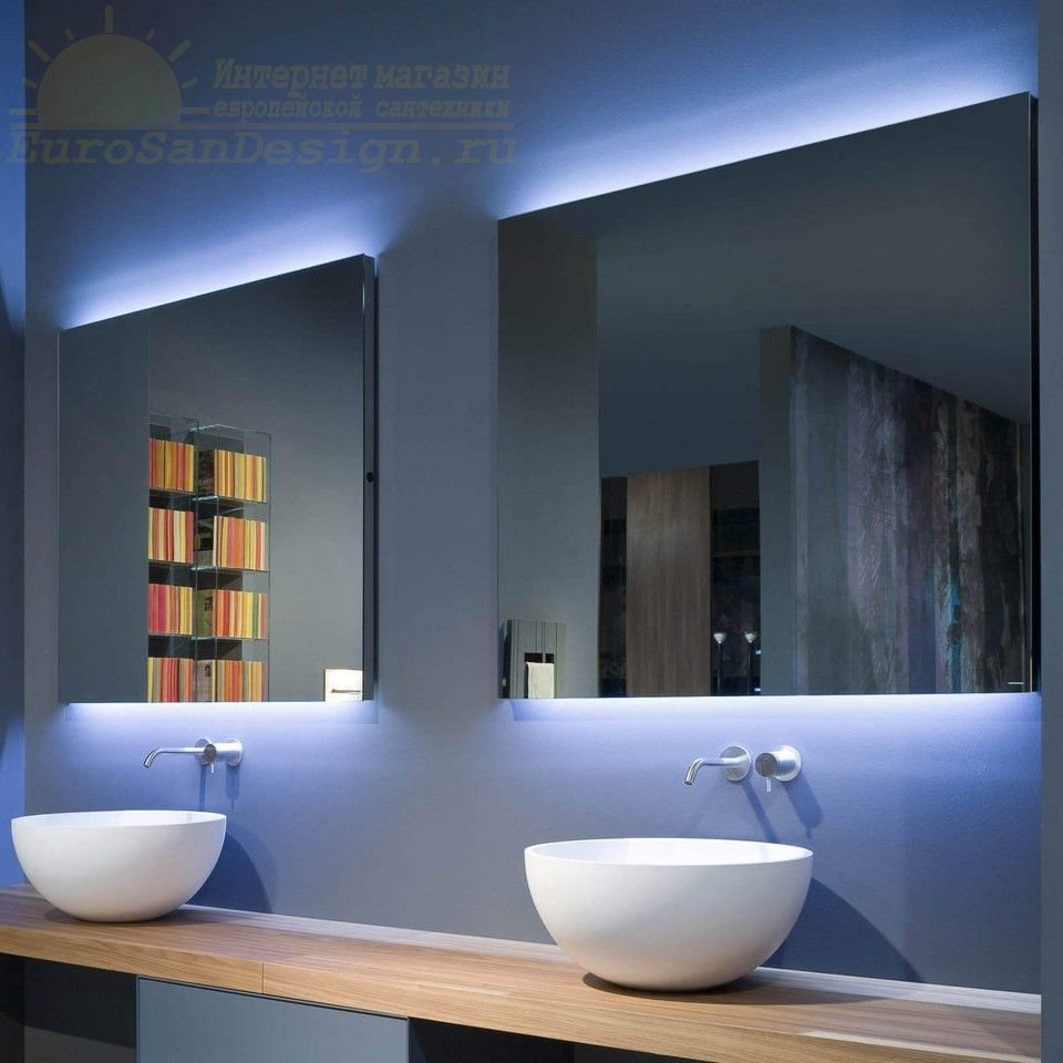 Зеркало Antonio Lupi Flash Flash100W с подсветкой ФОТО