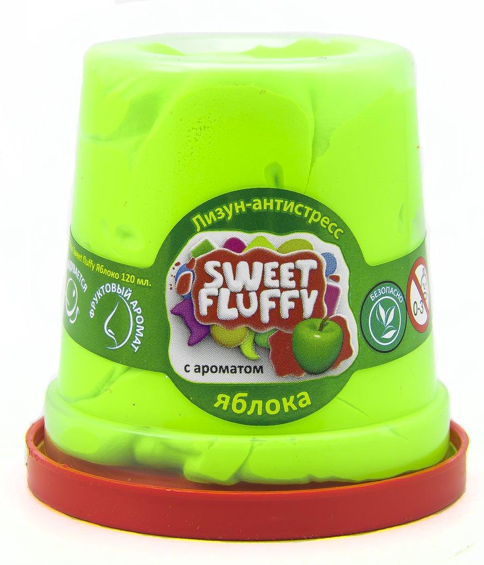 Слайм Mr.Boo Sweet fluffy Яблоко, 120 гр